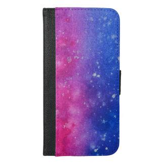 Galaxy Splatter Wallet Case