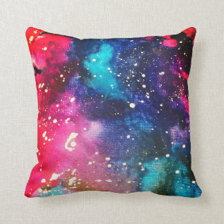 Galaxy Square Throw Pillow