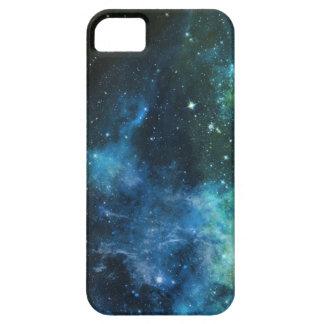 Galaxy Stars Nebula iPhone Blue Green 5/5S Case