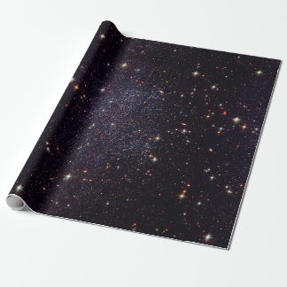 Galaxy Stars Space Geek Wrapping Paper