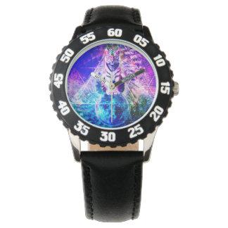 Galaxy tiger - pink tiger - 3d tiger - laser tiger watch