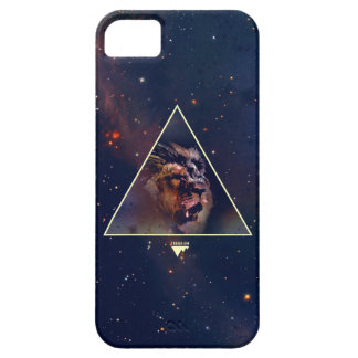 Galaxy Triangle Lion Head - Trendium Authentic iPhone 5 Covers