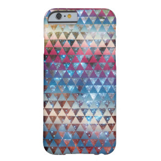 Galaxy Triangle Pattern Space Nebula Geometric Barely There iPhone 6 Case