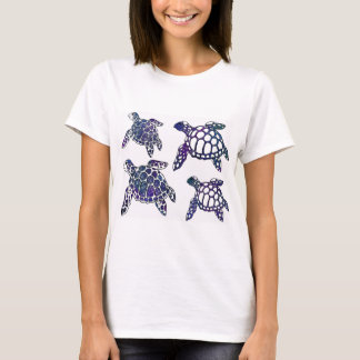 Galaxy turtle shirt