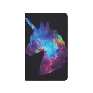 Galaxy unicorn notebook journal