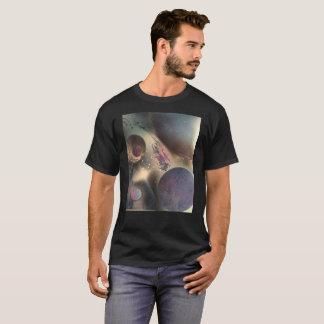 """Galaxy Unknown""  Spray Paint Design on T-shirt"