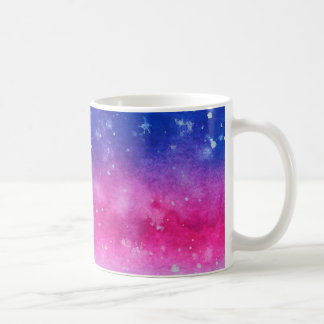Galaxy Watercolour Coffee Mug