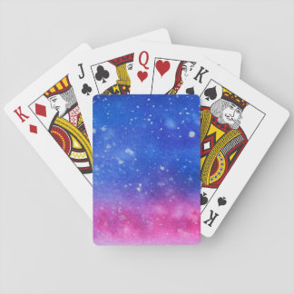 Galaxy Watercolour Playing Cards