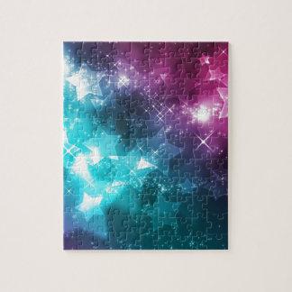 Galaxy with stars jigsaw puzzle