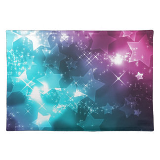 Galaxy with stars placemat