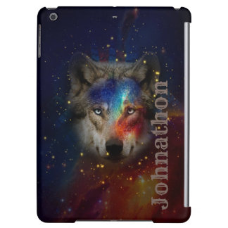 Galaxy Wolf For Men And Teen Boys Case For iPad Air