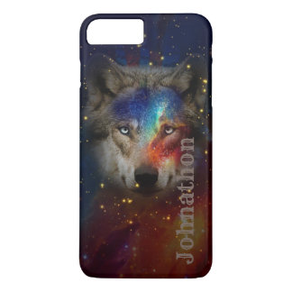Galaxy Wolf For Men And Teen Boys Case-Mate iPhone Case