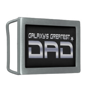 Galaxy's Greatest Dad Belt Buckle
