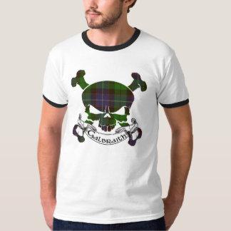 Galbraith Tartan Skull T-Shirt