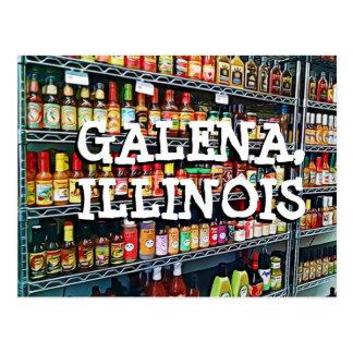 Galena Illinois Keepsake Postcard