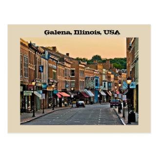 Galena, Illinois, USA Postcard