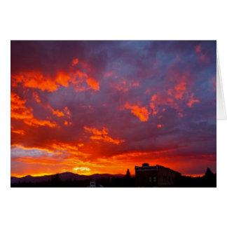 Galena Sky: Blank Card