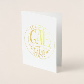 Galentine's Day Foil Greeting Card