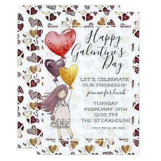 Galentine's Day Lunch Invitation