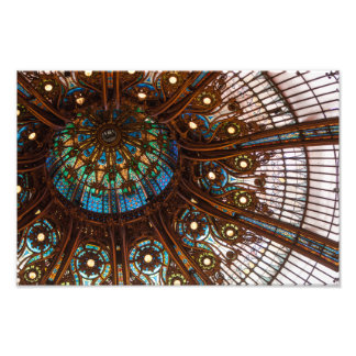 Galeries Lafayette Stained Glass Photo Art