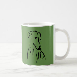 Galgo love coffee mug
