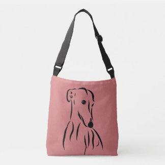 Galgo love crossbody bag