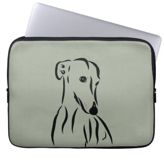 Galgo love laptop sleeve