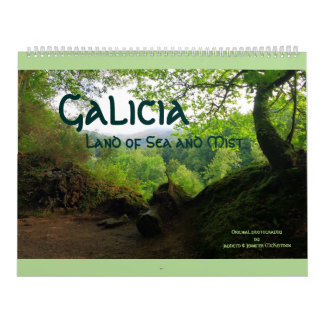 Galicia: Land of Sea and Mist Calendar