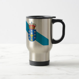 Galicia (Spain) Flag Travel Mug
