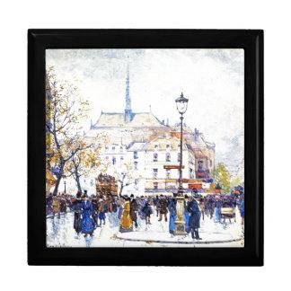 Galien Paris France Street Scene Art Gift Box