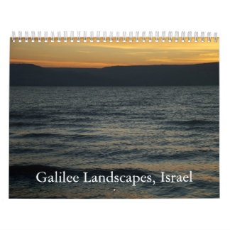Galilee Landscapes, Israel Calendars