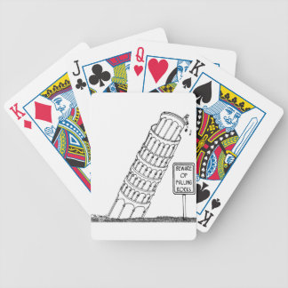 Galileo Cartoon 0958 Bicycle Playing Cards