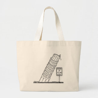 Galileo Cartoon 0958 Large Tote Bag
