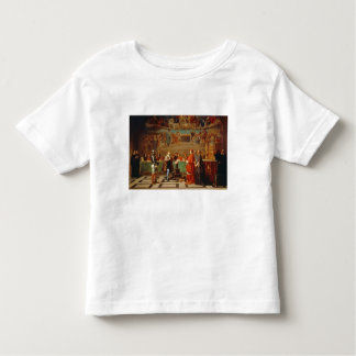 Galileo Galilei (1564-1642) before members of the Toddler T-shirt