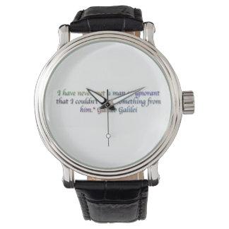 Galileo Galilei quote Watch