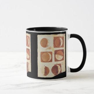 Galileo moon phases 1616 mug
