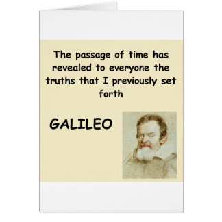 galileo quote card
