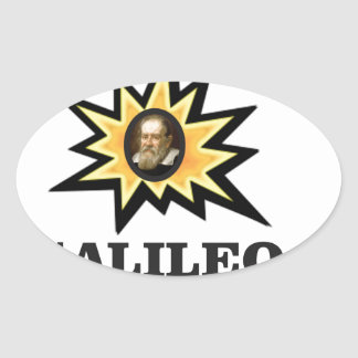 galileo sparks oval sticker
