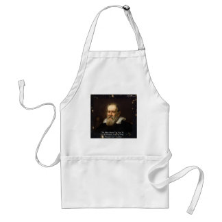 """Galileo """"Way To Heaven"""" Quote Gifts Tees Mugs Etc Standard Apron"""