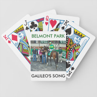 Galileo's Song Poker Deck