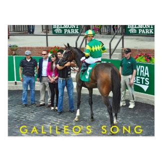 Galileo's Song Postcard