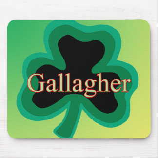Gallagher Family Mouse Pads