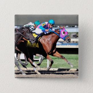 Gallant Bob Stakes 2015 2 Inch Square Button
