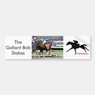 Gallant Bob Stakes 2015 Bumper Sticker