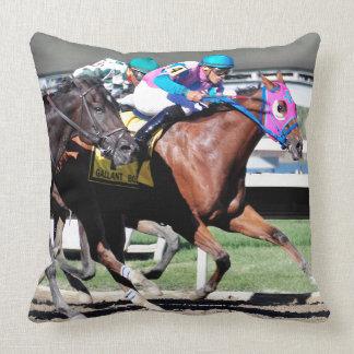 Gallant Bob Stakes 2015 Throw Pillow