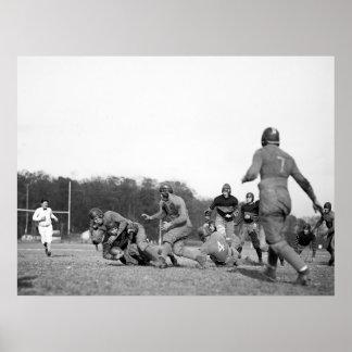Gallaudet Football: 1923 Poster