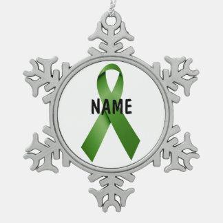 Gallbladder Cancer Memorial Ornament