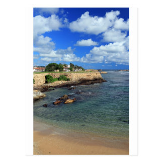 Galle Fort and Indian ocean Sri Lanka Postcard
