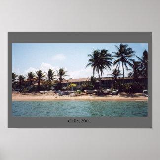 Galle, Sri Lanka Poster