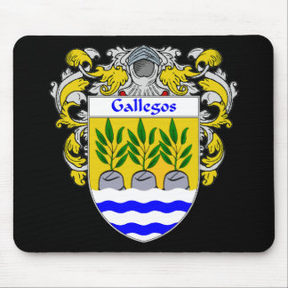Gallegos Coat of Arms Mousepad